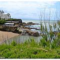 Plage Port Vieux Villa Belza Biarritz