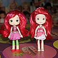 Comparatif poupées charlotte hasbro/bandai (récentes)