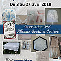 Exposition avril 2018