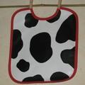 bavoir vache