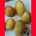Pommes de terre frits au sel fou
