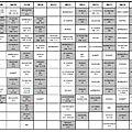 Planning des matchs ** septembre 2014