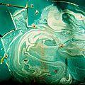 flaque d'eau dans couvercle de cuve yurtao
