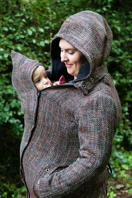 manteau de portage marron laeti couture concours (9)