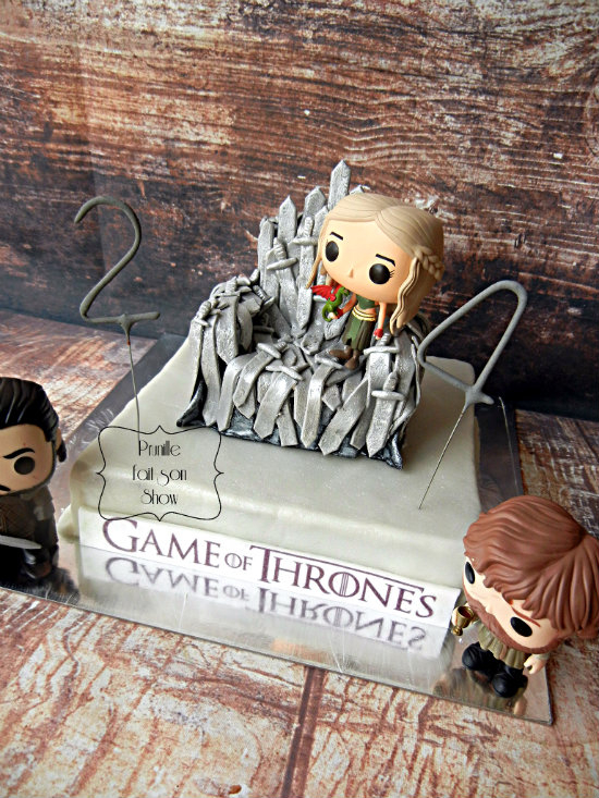 gateau game of throne prunillefee 4