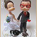 Mariés et porcelaine froide