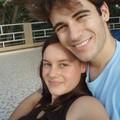 Anthony et Polly avec le sourire!