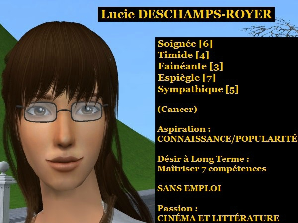 Lucie DESCHAMPS-ROYER