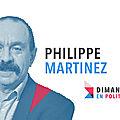 Dimanche en politique sur france 3 n°98 : philippe martinez