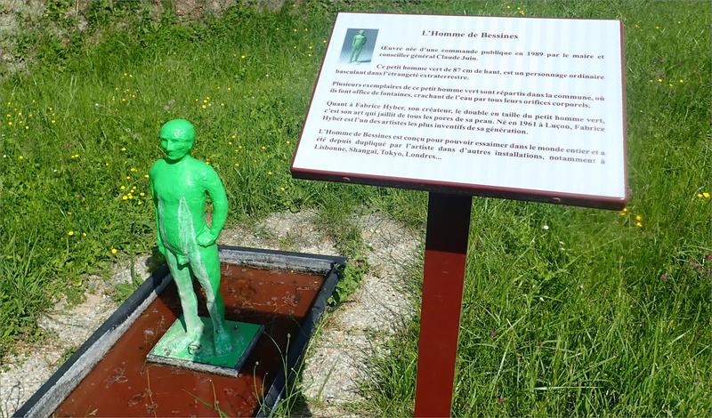 Bessines homme vert explication 200518