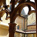 Cadouin, une superbe abbaye cistercienne en périgord