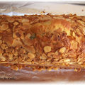 Cake pêches amandes