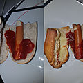 Hot dog version film d'horreur