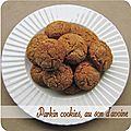 Parkin cookies, au son d'avoine (biscuits sans oeufs)