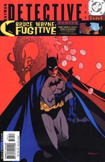 detective comics 0769