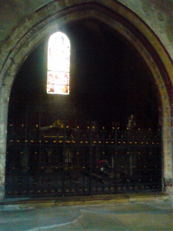 Eglise Ste Croix, chapelle St Momolin