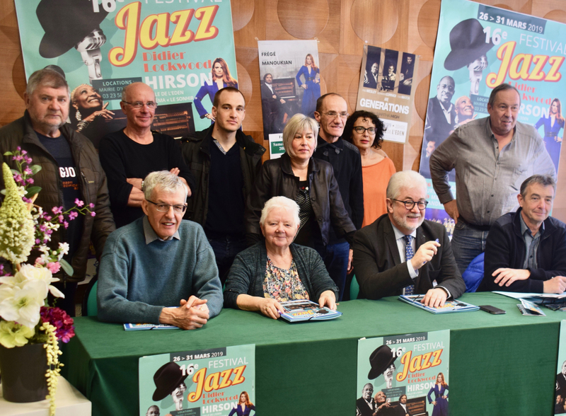 FESTIVAL JAZZ 2019 CONF PRESSE groupe
