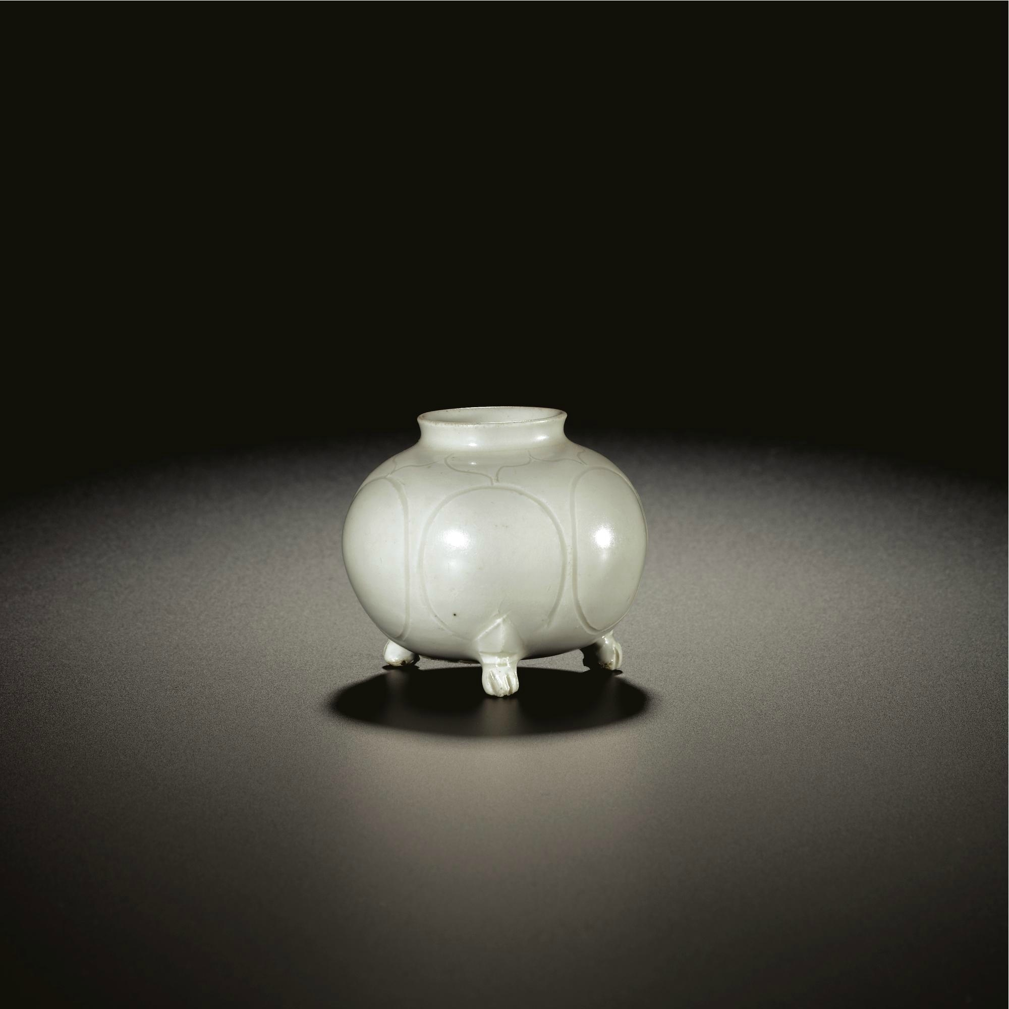 A 'Xing' tripod water pot, Tang-Five Dynasties