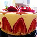 Strawberry pastry - fraisier