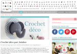 article crochetdéco sur Abracadacraft