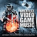 The greatest video game music (du london philharmonic orchestra et andrew skeet)