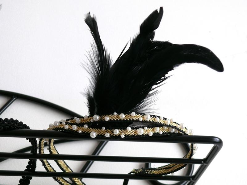 Headband années folles
