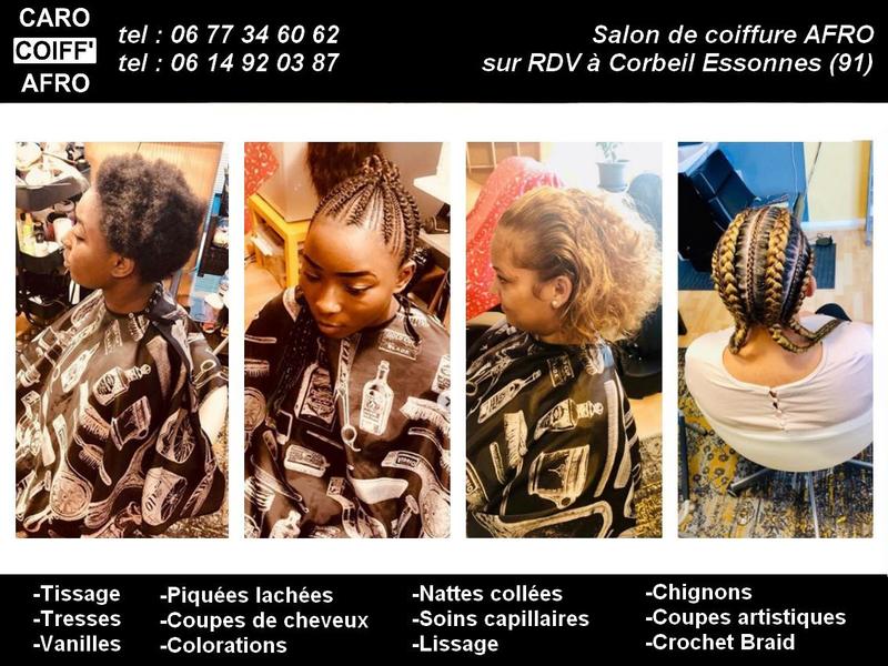 Salon de coiffure Afro evry tresses