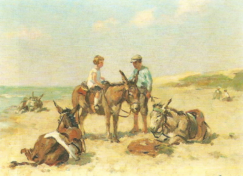 Louis SOONIUS - La promenade à âne
