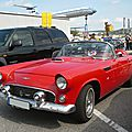 FORD Thunderbird 2door convertible avec continental kit 1956 Sinsheim (1)
