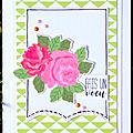 Carte d'anniversaire Lolotte - Juin 2017