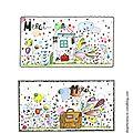 jolies cartes pour dire merci 2013