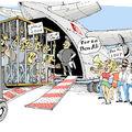 Les Harragas expulsés de Lampeduza soutiennent BEN ALI 2009