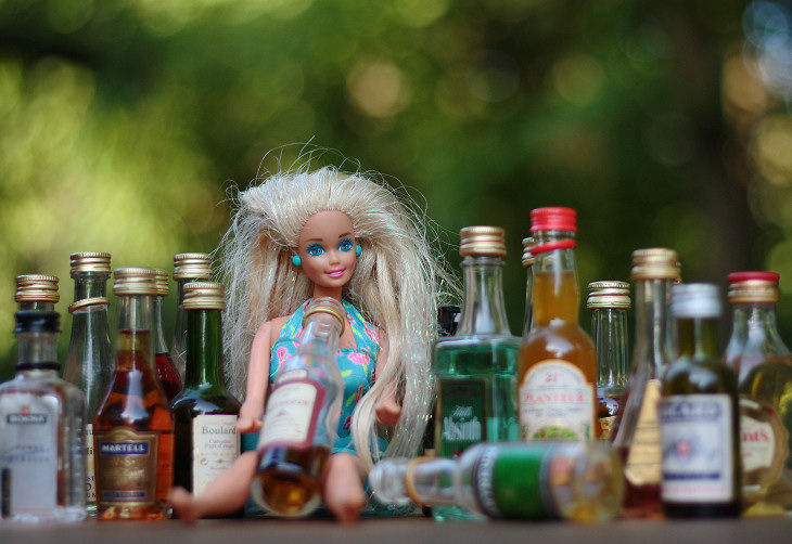 Barbie alcoolo