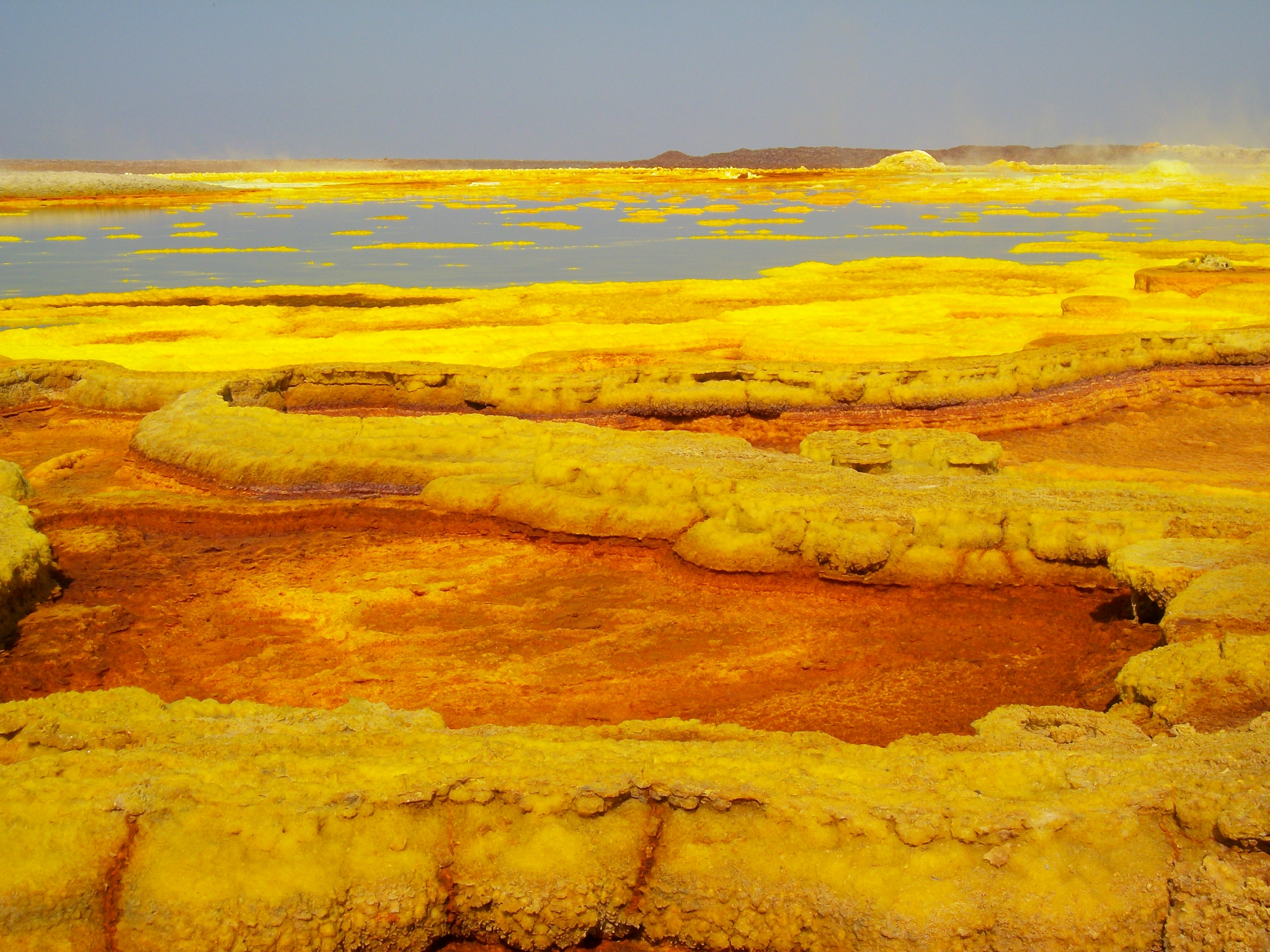 dallol colorful land