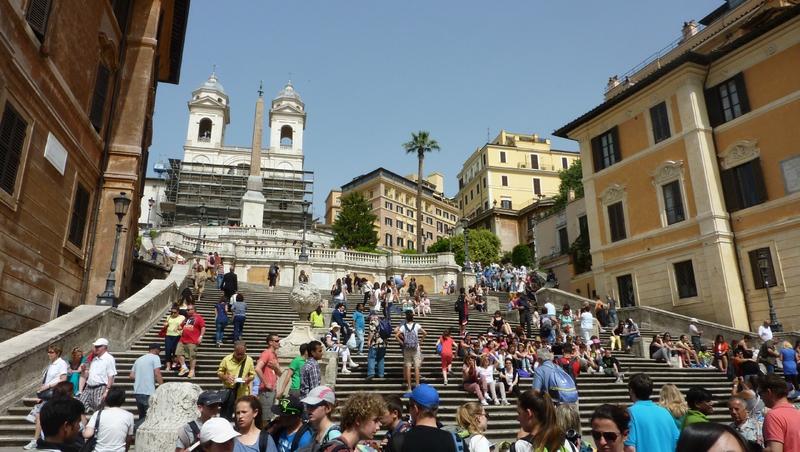 Spanish steps (2)