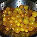 Confitures de tomates cerises