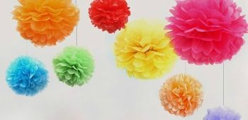 10pcs-lot-6-Tissue-Paper-Pom-Poms-Flower-Balls-Wedding-Party-Shower-Decoration