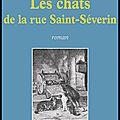 Les chats de la rue saint séverin - anne marie mitchell - editions lucien souny