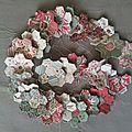 Fleurs d'hexagones...
