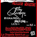La chapelle 70's rock night 2014