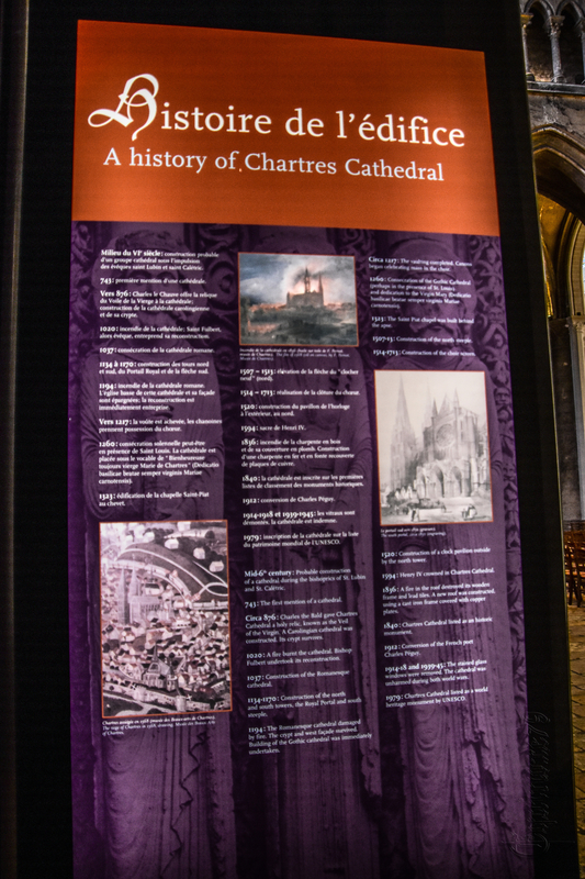 A history of Chartres Cathedrale – Time Travel (2)