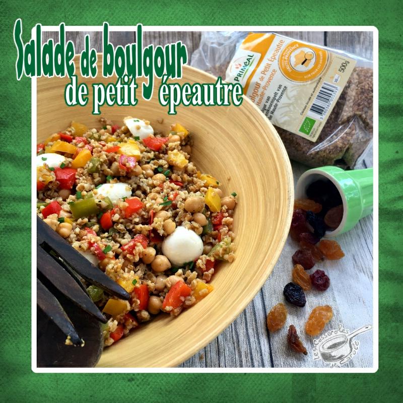 salade de boulgour petit épeautre (scrap)