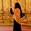 Fidèle à la mosquée