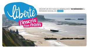 candidature des plages du débarquement de Normandie au patrimoine mondial de l'UNESCO
