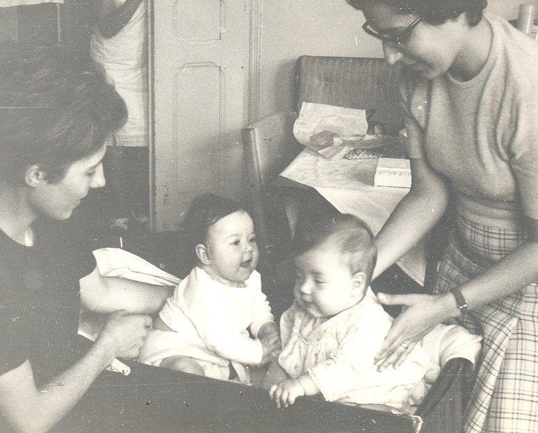 Maman et moi, avec Guida et Constance