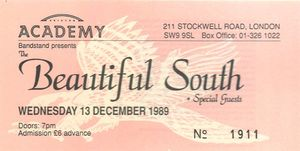 1989_12_The_Beautiful_South_Brixton_Academy_Billet