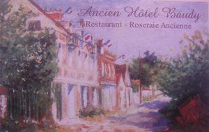 Ancien Hotel Baudy Carte de visite (1) J&W