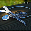 Bracelet jonc Chicago médaille 15 mm gravée
