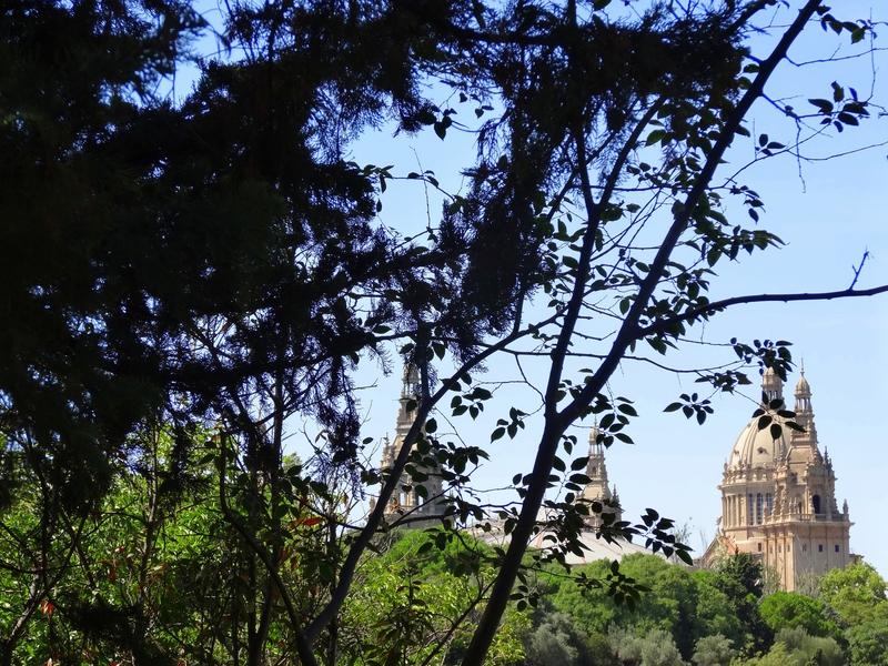 Montjuïc - Vue depuis les jardins de Joan Maragall