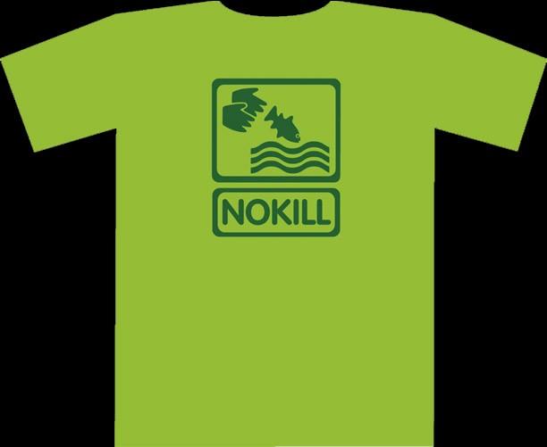 tee-shirt NOKILL vert lime
